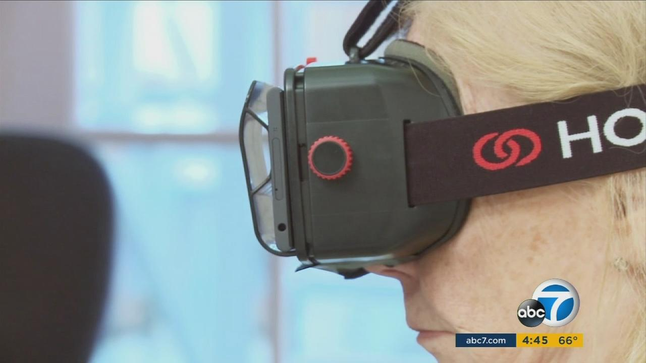 Virtual reality headsets are being used to help treat patients suffering from post-traumatic stress disorder and phobias.