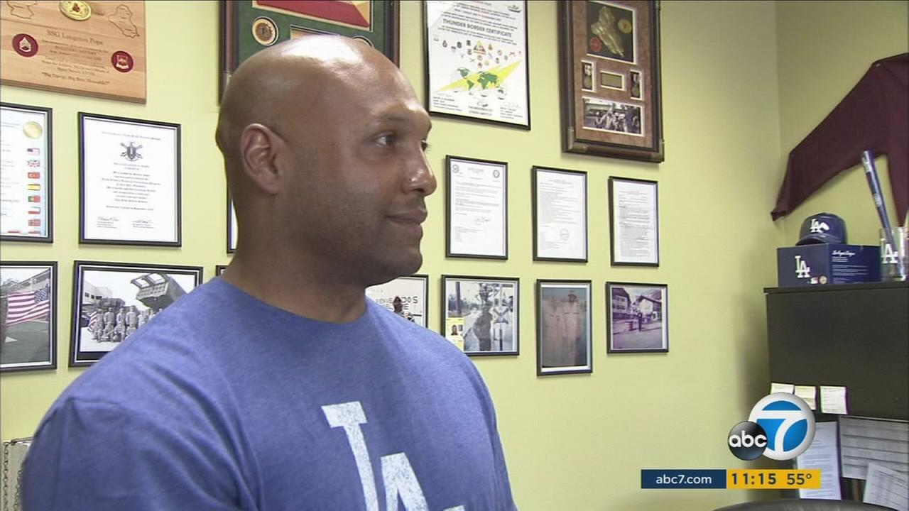 Sgt. 1st Class Langston Pope is serving his 17th year in the Army. The American Soldier Network honors his extraordinary service as part of ABC7s Pay it Forward series.