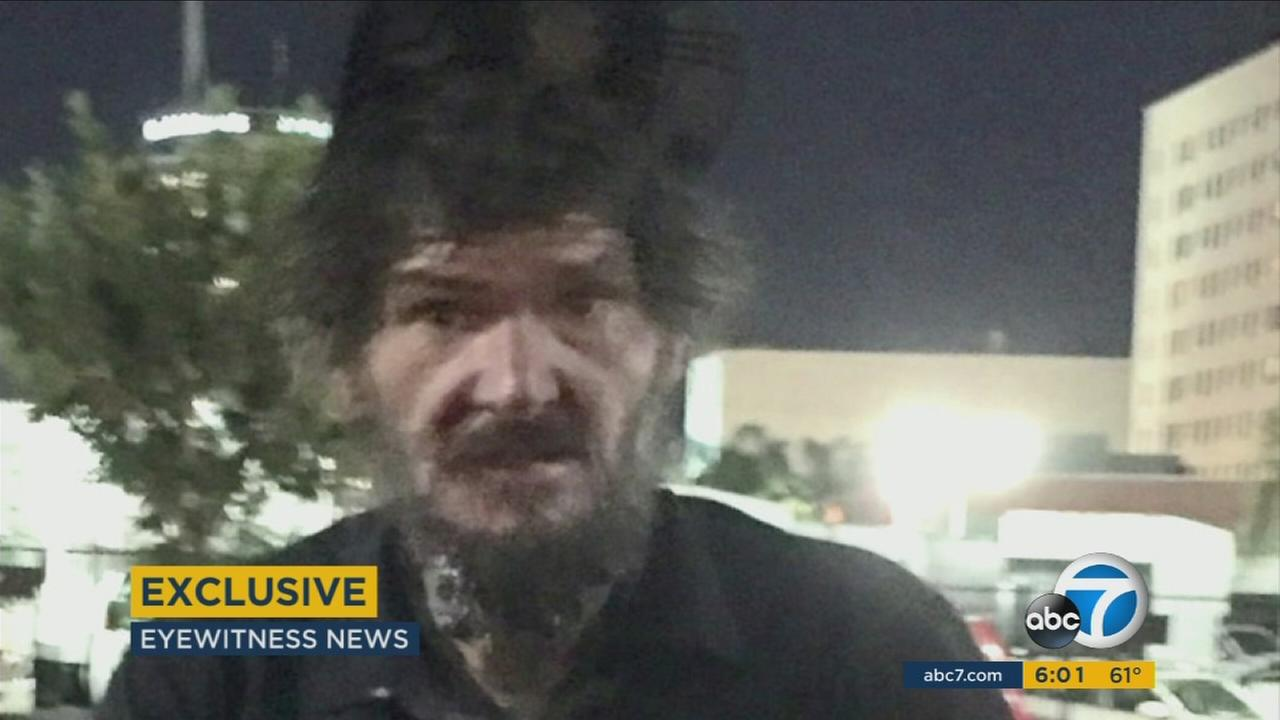 Police say David Merck, 45, is accused of attacking NCIS actress Pauley Perrette outside her Hollywood home on Thursday, Nov. 12, 2015.