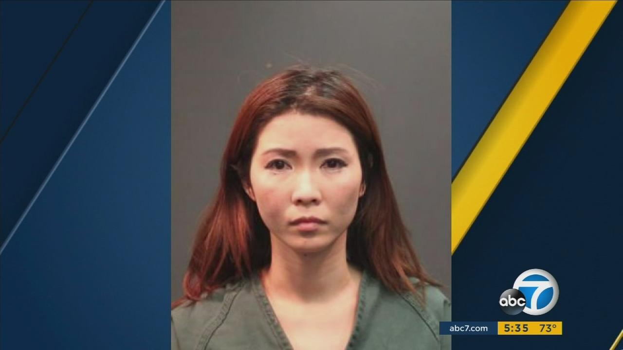 Huong Nguyen, 33, has been charged with soliciting prostitution, according to Santa Ana Police Department.