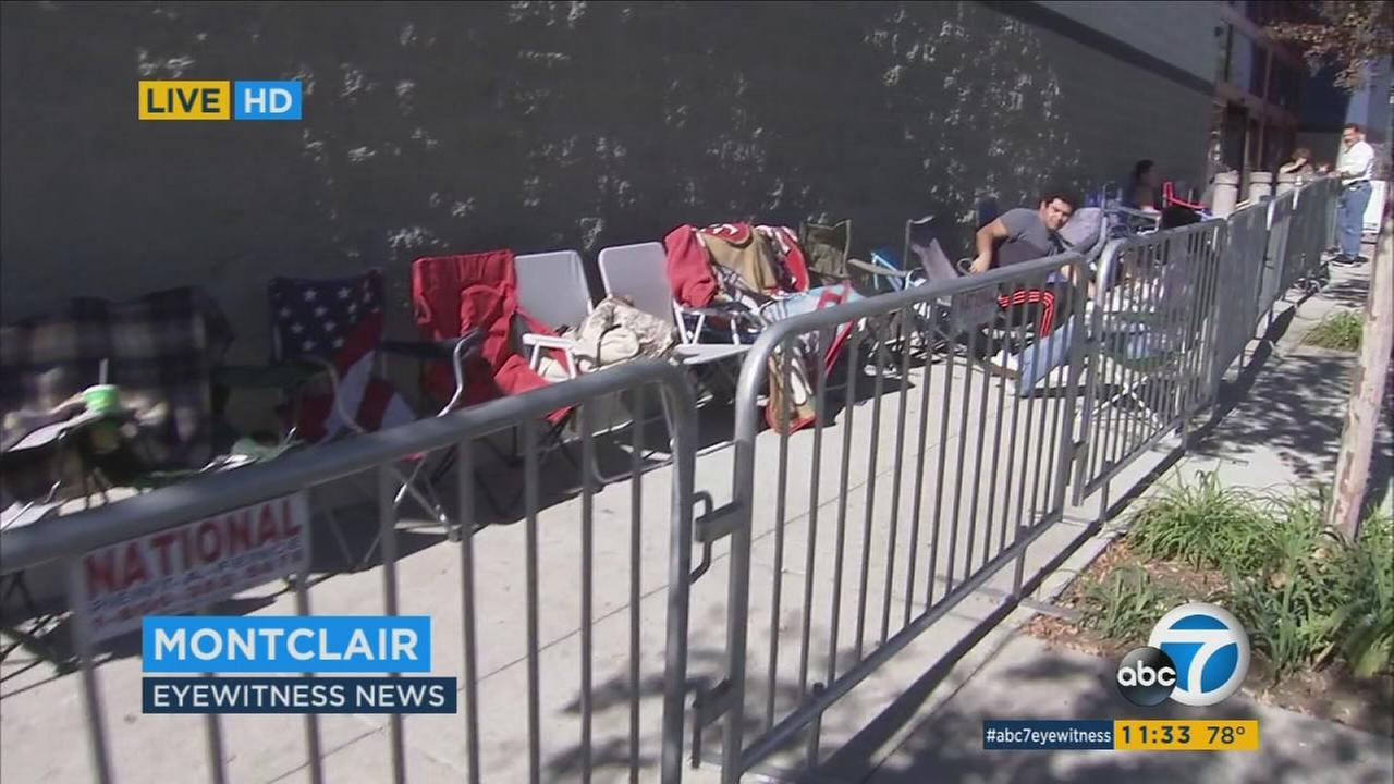 Black Friday shoppers eager for good deals have already begun camping out in front of stores.