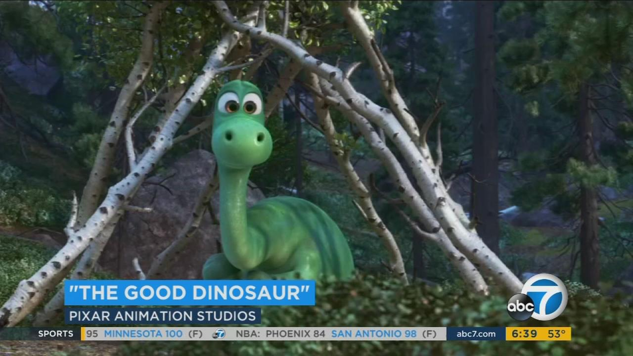 I clip from the Pixar 2015 film The Good Dinosaur.