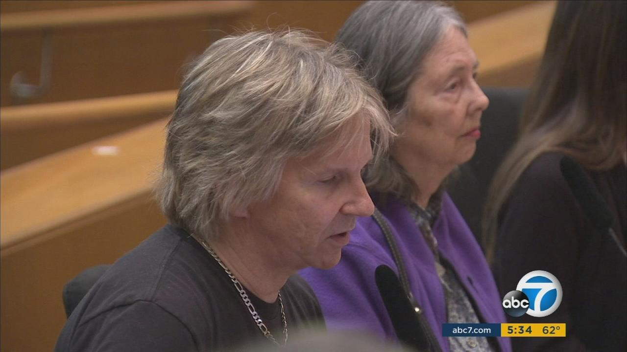 Residents of Porter Ranch address the Los Angeles County Board of Supervisors about a Southern California Gas Company plant gas leak.