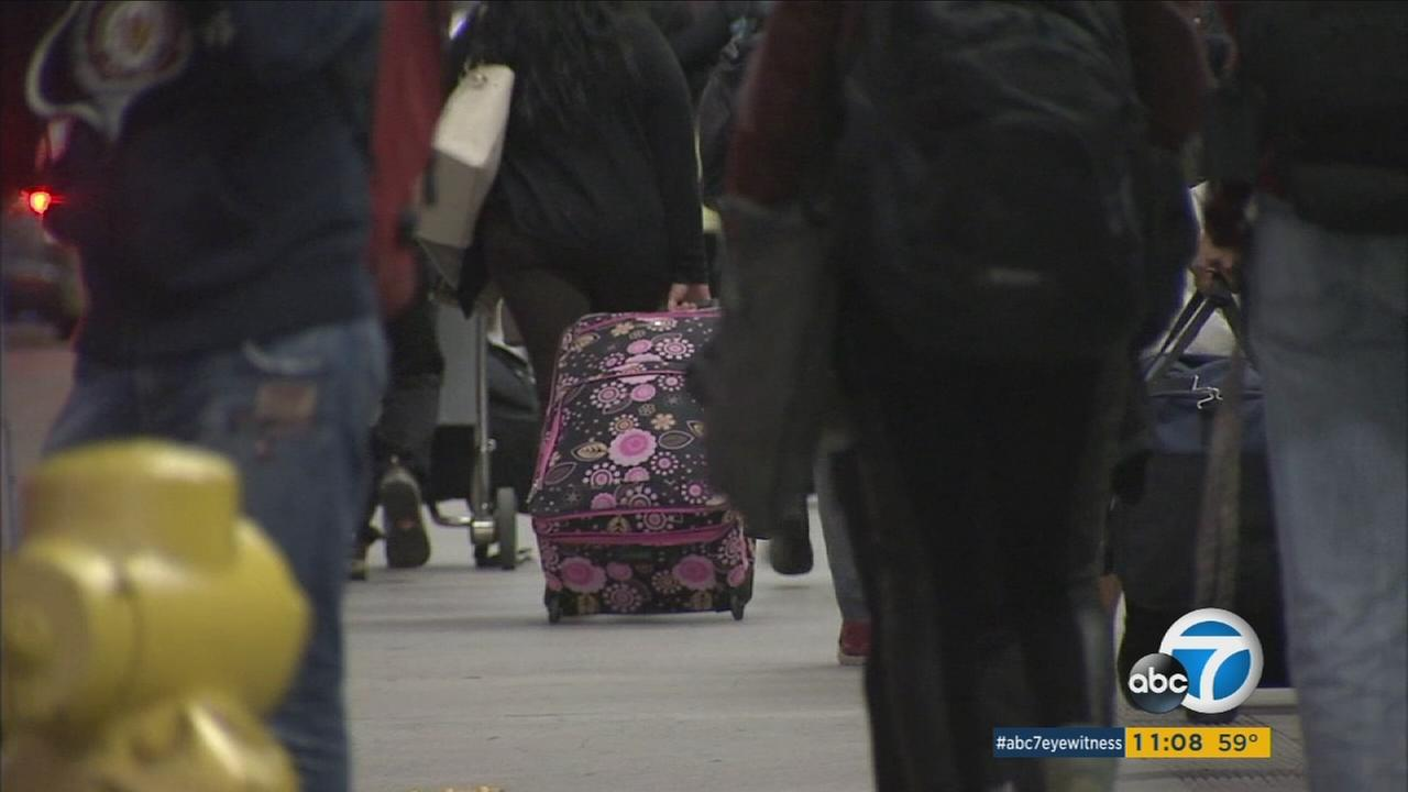 There will be extra security at Los Angeles International Airport during holiday travel following terrorist attacks.