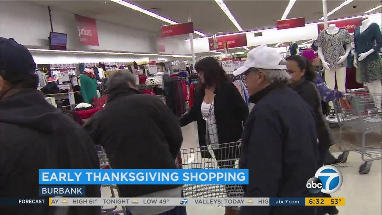 Shoppers came together in a local Kmart looking to score deals before Black Friday.