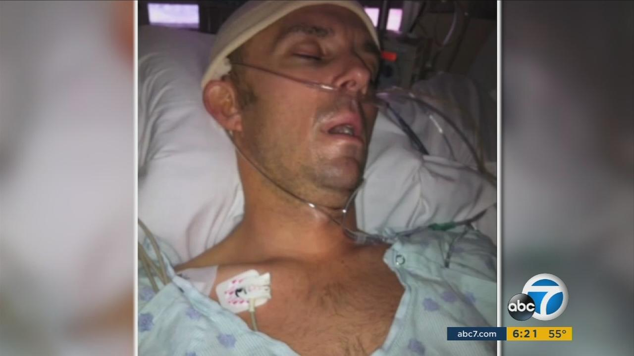 On this Thanksgiving, 43-year-old Sean Entin of Tarzana is thankful he is alive. A simple MMA training session led to a stroke on Black Friday four years ago.
