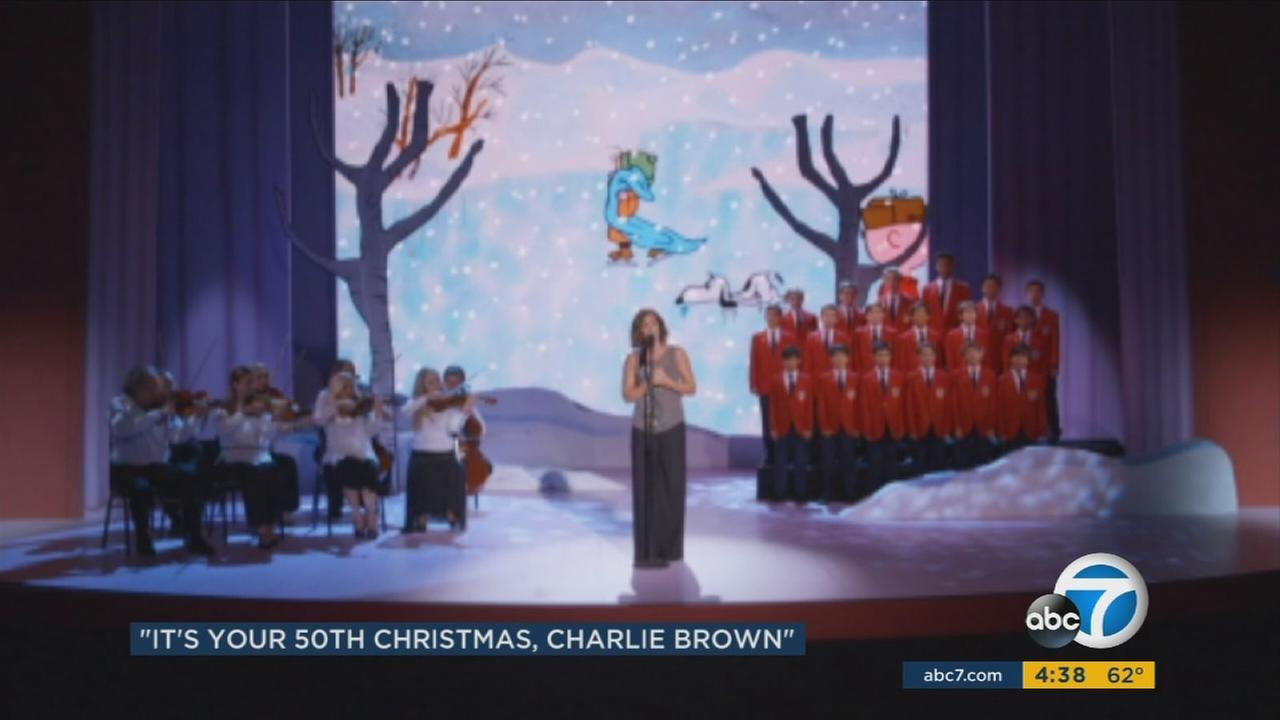 A Charlie Brown Christmas will mark its 50th anniversary on Monday, and besides the annual airing of the animated classic, there will be a special holiday retrospective.