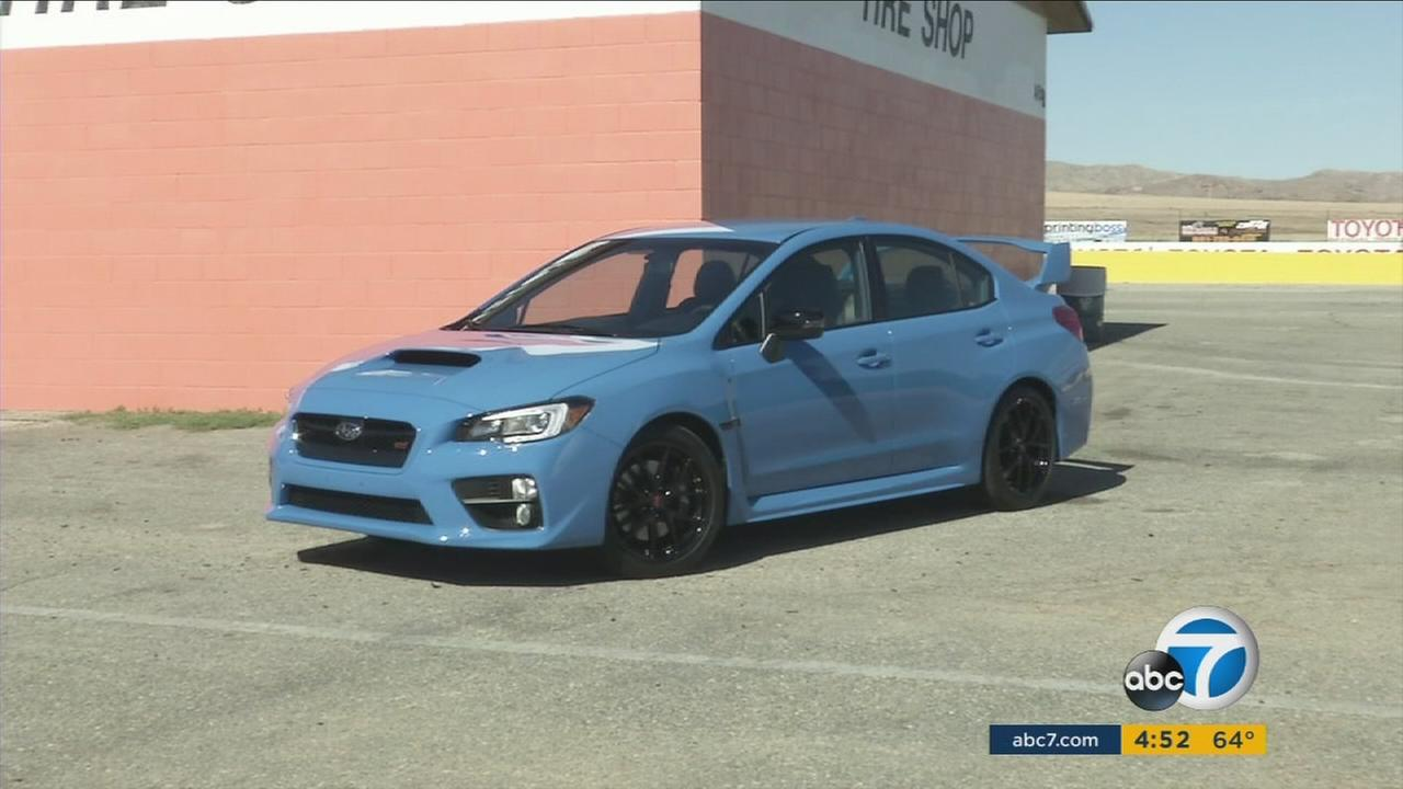 Subaru is now offering a very bright shade of blue called Hyper Blue.