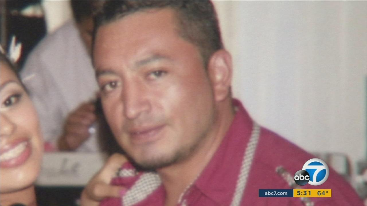 Jorge Lopez-Lobato, 35, seen in a file photo before being struck and killed in Santa Ana Sunday, Nov. 29, 2015.