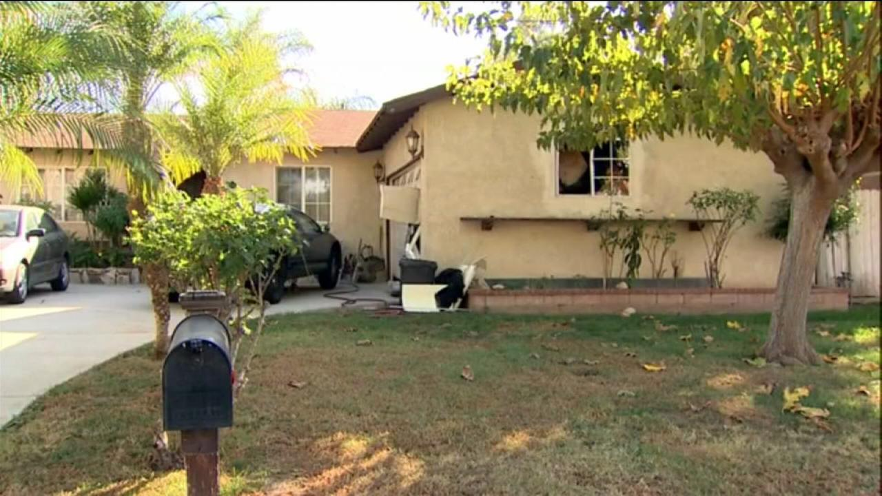 Authorities raided this Riverside home in their investigation into who purchased the assault-style rifles used in the San Bernardino attack.
