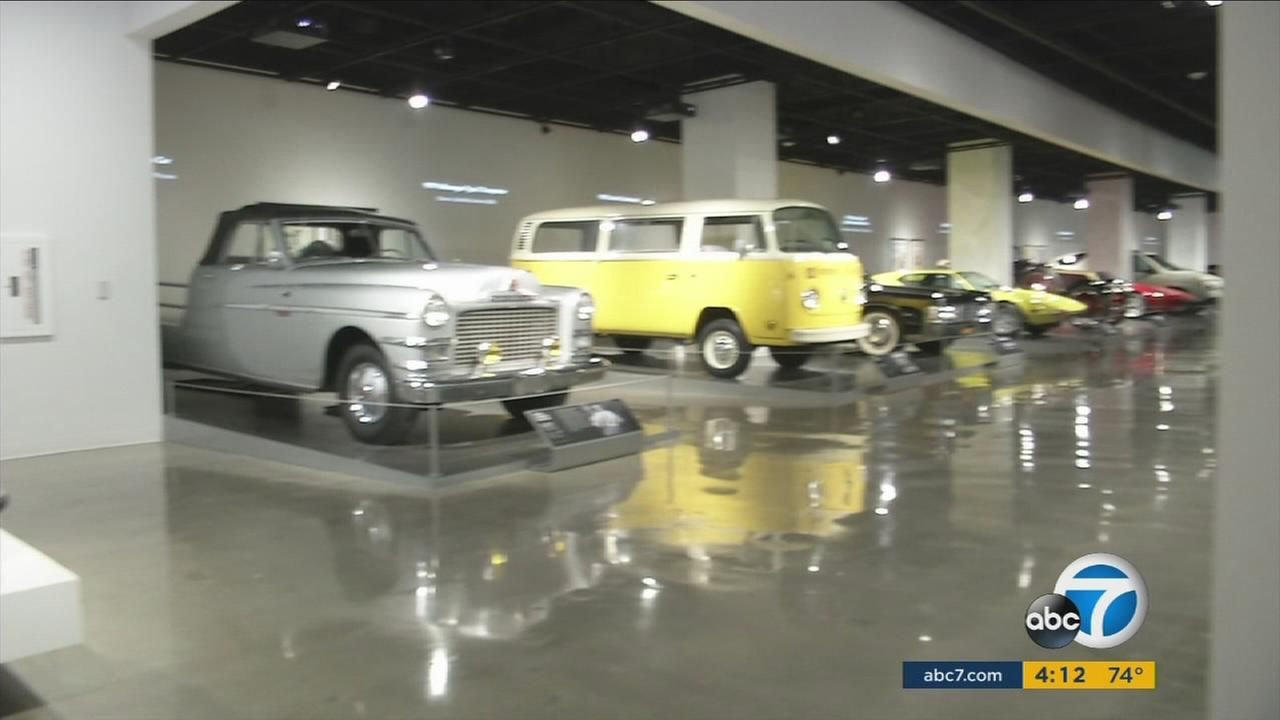 A celebration of the all-new Petersen Automotive Museum took place ahead of its grand opening on Sunday.
