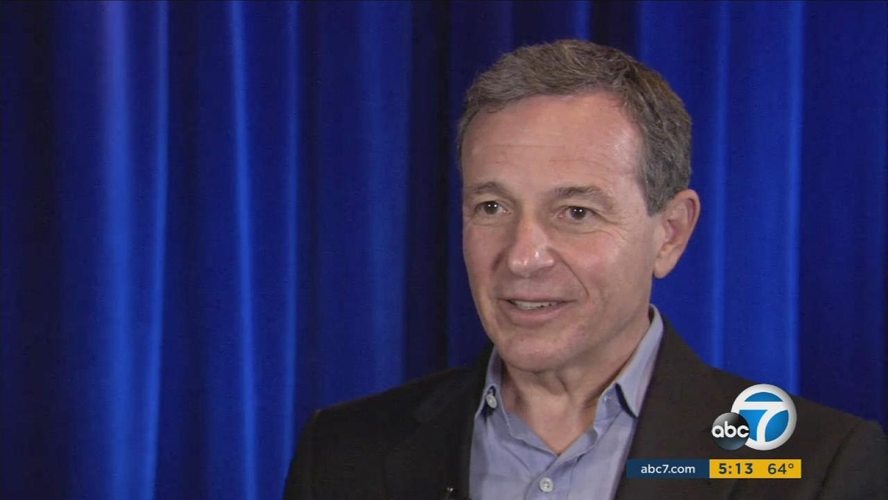 Disney CEO Bob Iger speaks about his effort to bring the NFL back to Los Angeles.