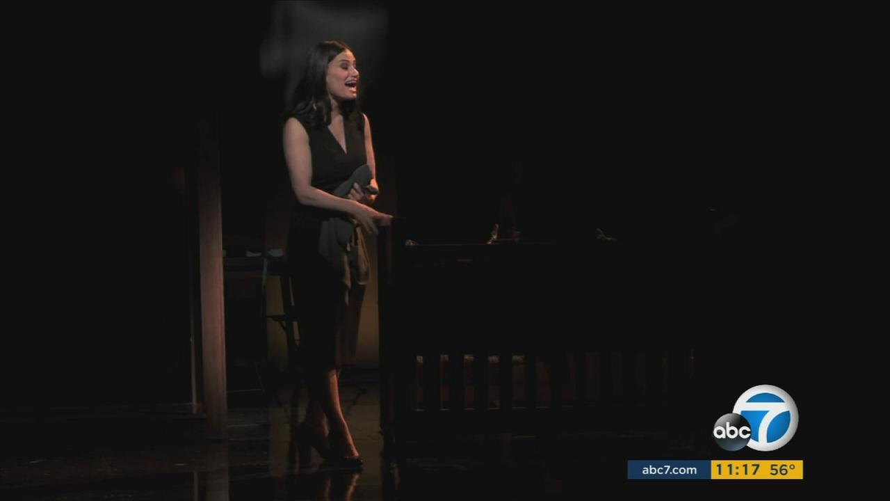 Idina Menzel brings her Broadway musical If/then to the Pantages Theatre in Hollywood.