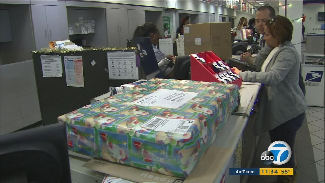 The U.S. Postal Service is geared up for a hectic day Monday, which is traditionally one of the busiest shipping days of the year.