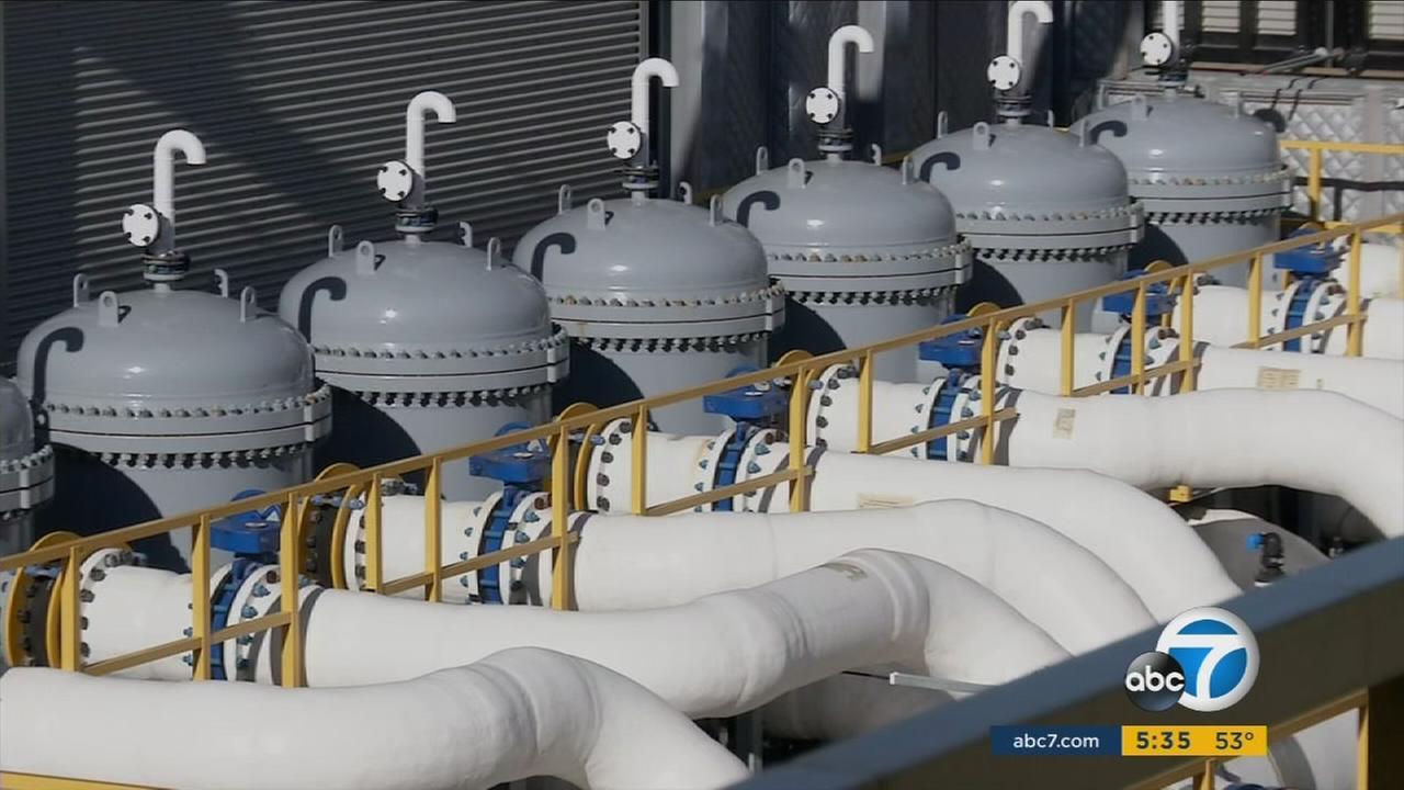 Poseidon Waters desalination plant in Carlsbad, California.