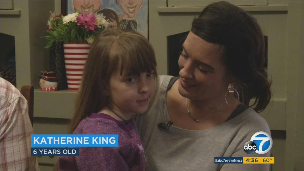 Doctors told 6-year-old Katherine King she had nine months to live when she was diagnosed with Diffuse Intrinsic Pontine Glioma, or DIPG, in June 2015.