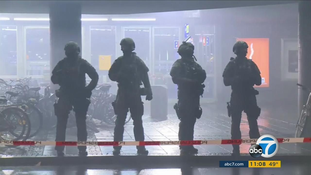 Authorities on alert in Germany after receiving a terror threat on New Years Eve Thursday, Dec. 31, 2015.