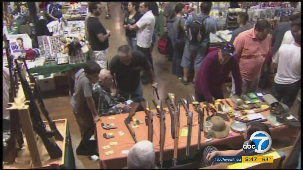 The Crossroads of the West Gun Show is one of the largest gun shows in California and will be in Costa Mesa the weekend of Jan. 16, 2016.