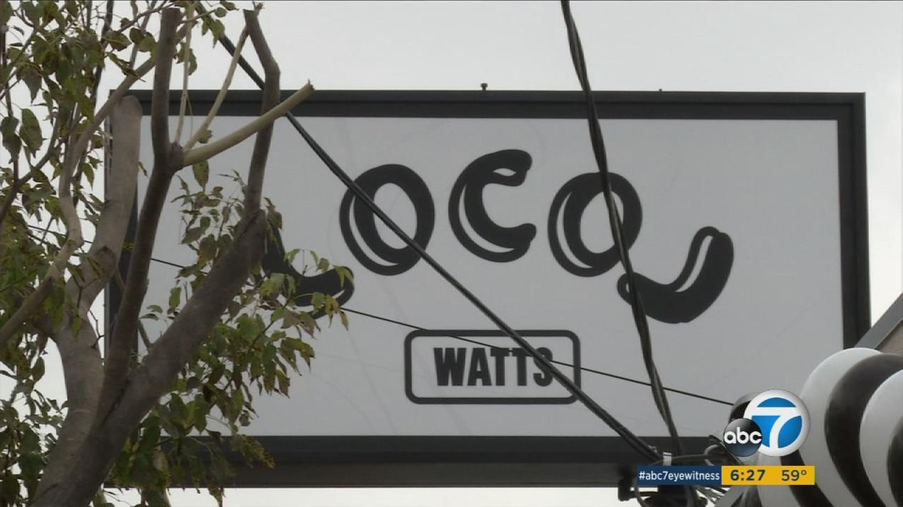 LocoL, a fast-food restaurant from celebrity chefs Roy Choi and Daniel Patterson, opened at 1950 E. 103rd St. in Watts on Monday, Jan. 18, 2016.