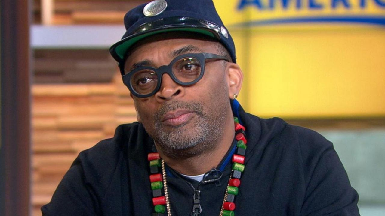 Spike Lee speaks on Good Morning America on Wednesday, Jan. 20, 2016.