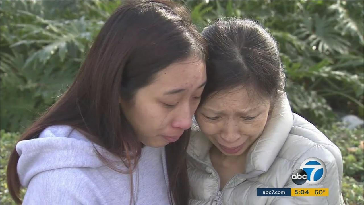 The mother and sister of Jonathan Tieu, 20, plead for the escaped inmate to turn himself into authorities.