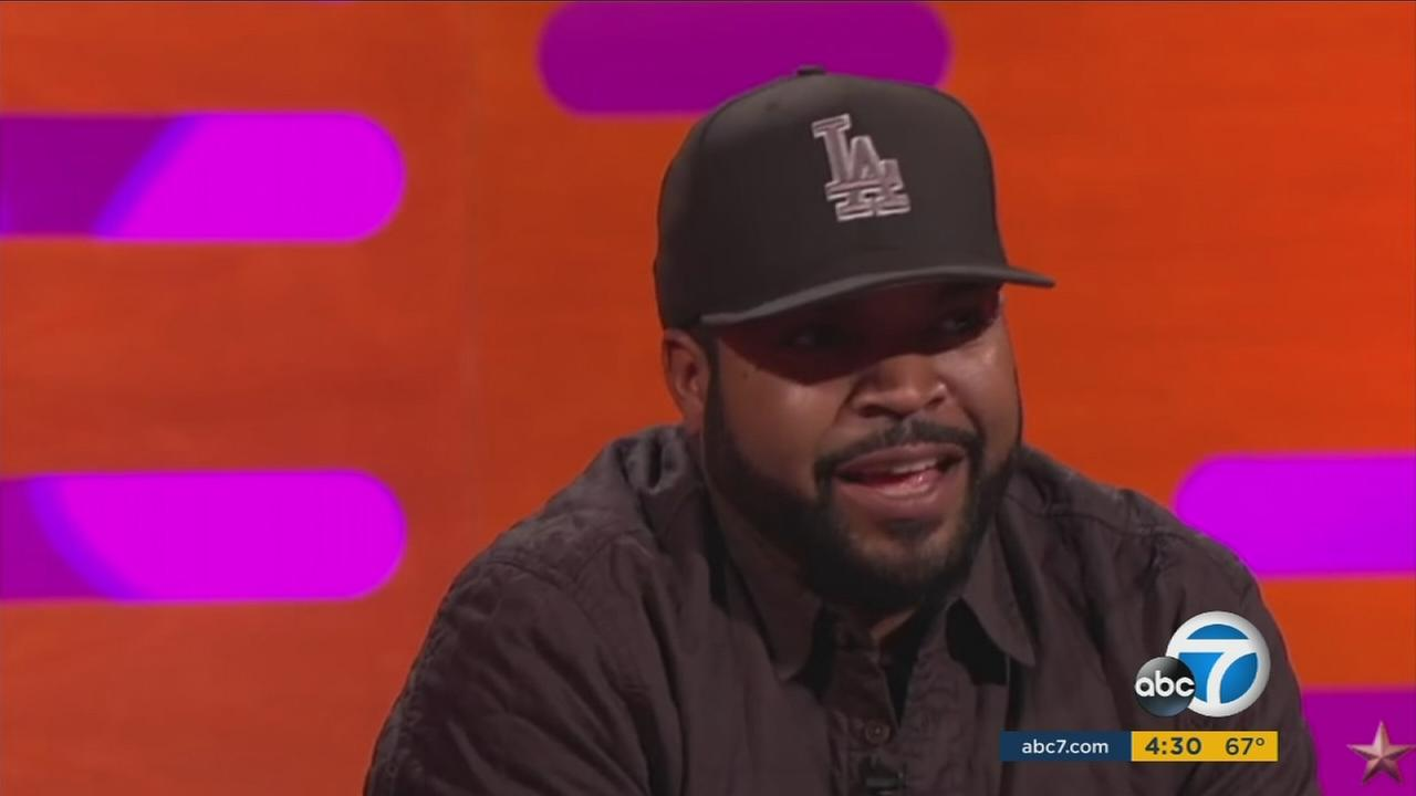 Movie producer Ice Cube fires at back at the growing Oscars diversity controversy on the Graham Norton Show by saying there is nothing to complain about.