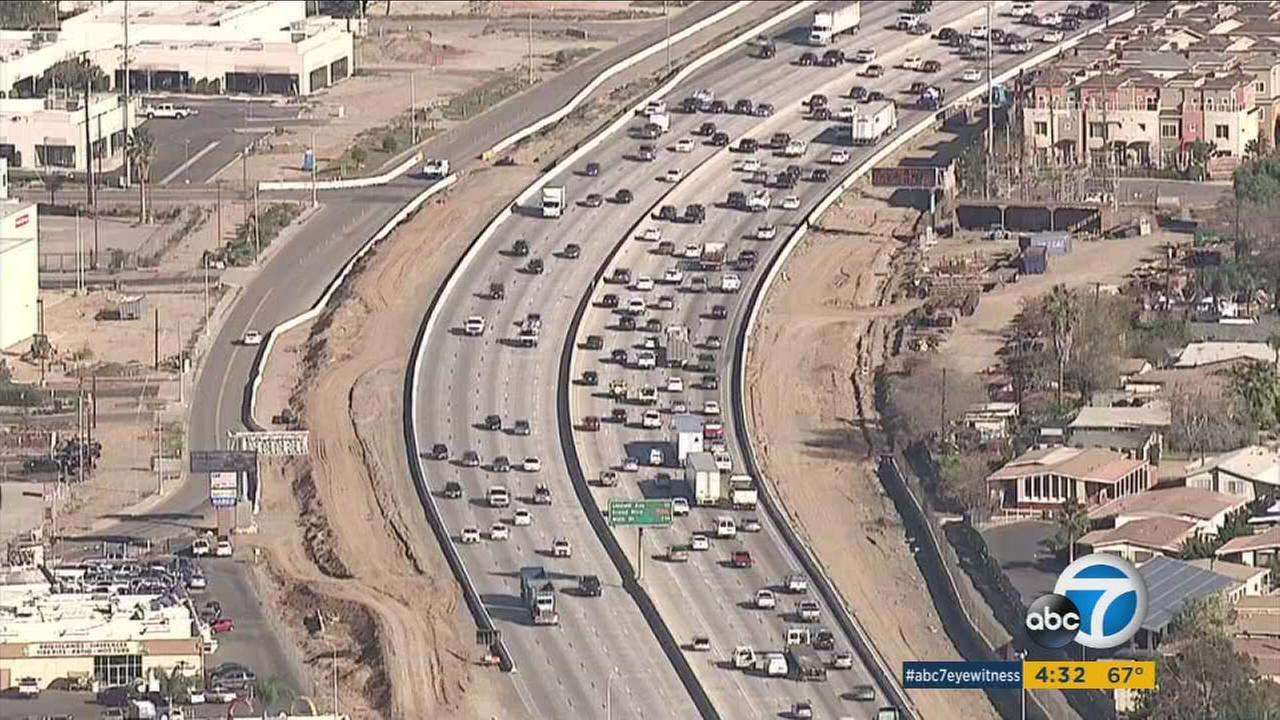 Traffic between Orange and Riverside counties already crawls on a good day, but next month, it could come to a grinding halt -- at least for a weekend.