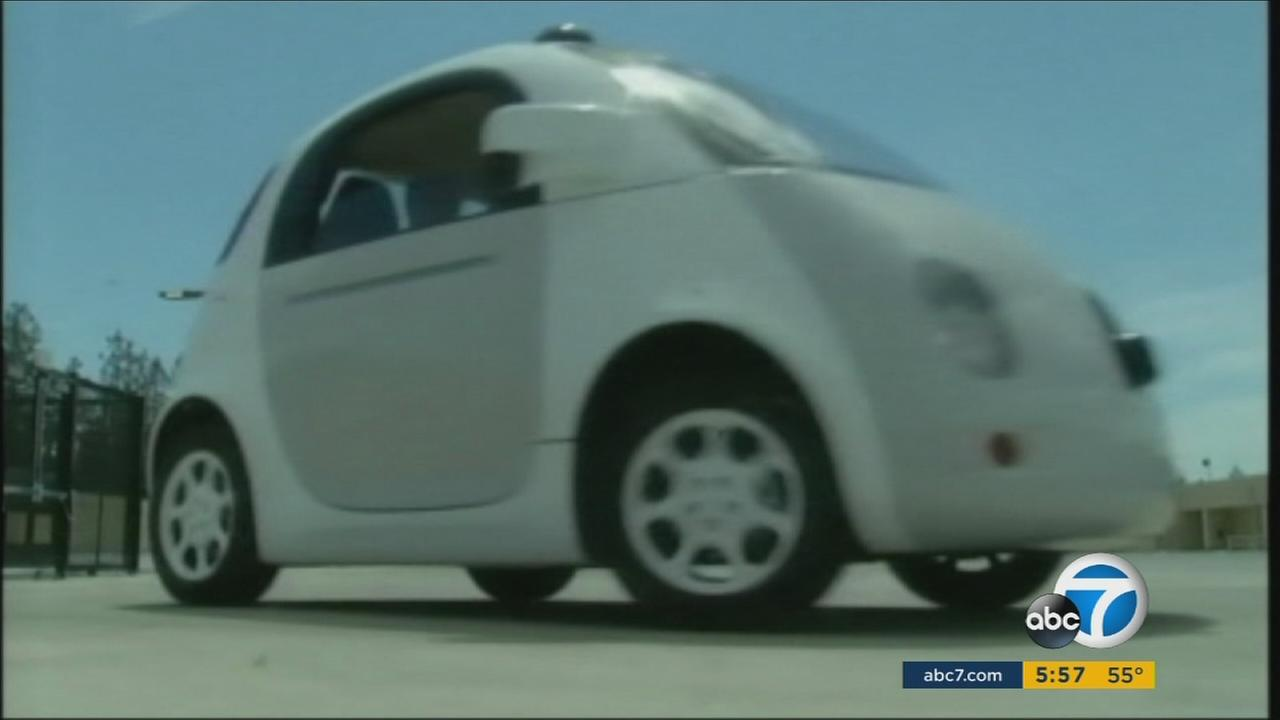 Eleven companies are testing self-driving cars in California.