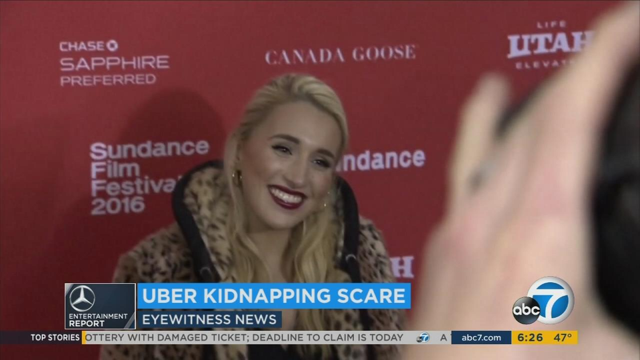 Actress Harley Quinn Smith, daughter of director Kevin Smith, smiles for the cameras in an undated photo.