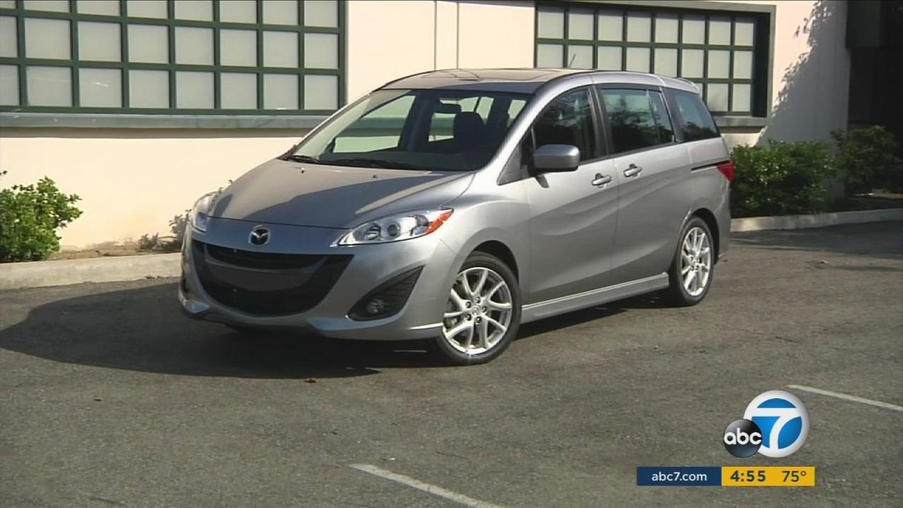 A 2015 Mazda 5 is shown in an undated photo.