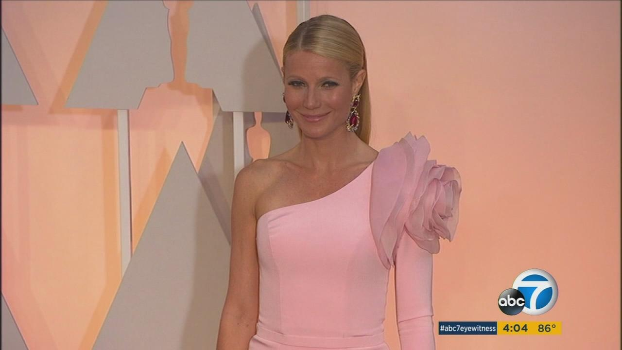 Gwyneth Paltrow poses for a picture in this undated photo.