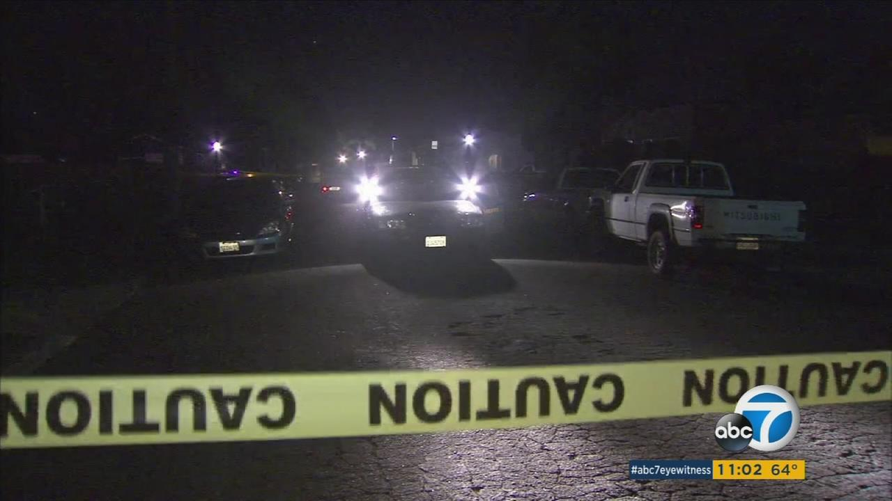 The Los Angeles County Sheriffs Department said a 1-year-old girl was shot and killed in Compton on Tuesday, Feb. 9, 2016.