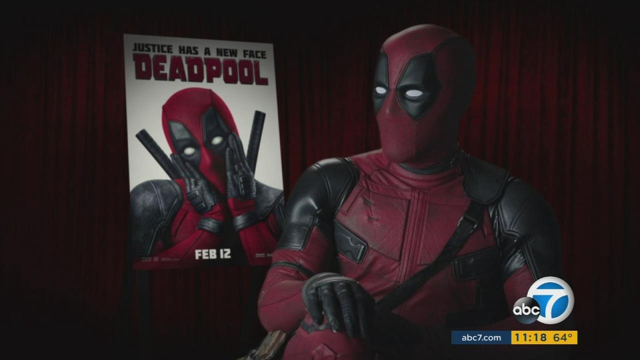 Deadpool, the antihero star of Marvel Comics new film Deadpool talks to ABC7s George Pennacchio about the upcoming release of the highly anticipated movie.
