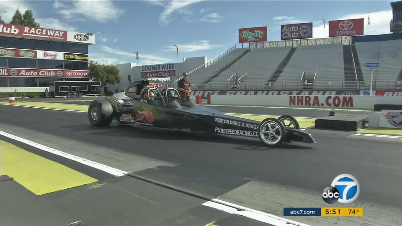 The NHRA Winternationals return to Pomona this week.