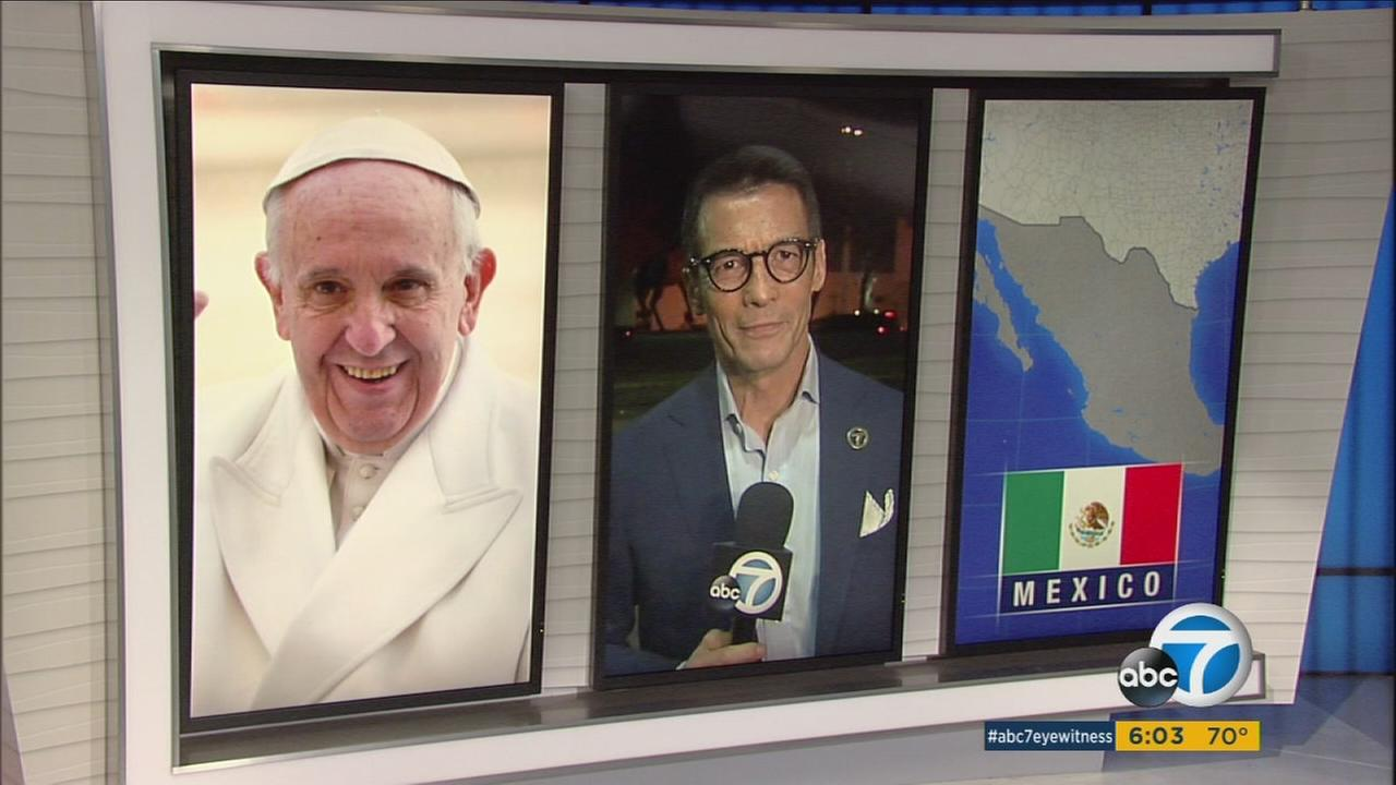 Pope Francis is visiting Mexico this week.
