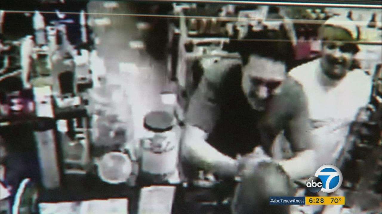 The moment Joseph Carrillo, a pizza delivery driver down to his last few dollars, won the lottery was all captured on surveillance camera on Jan. 28, 2016.