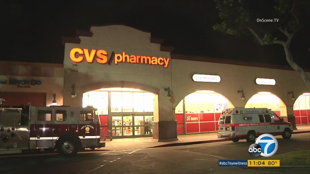 A CVS clerk in Ventura was attacked during an armed robbery.