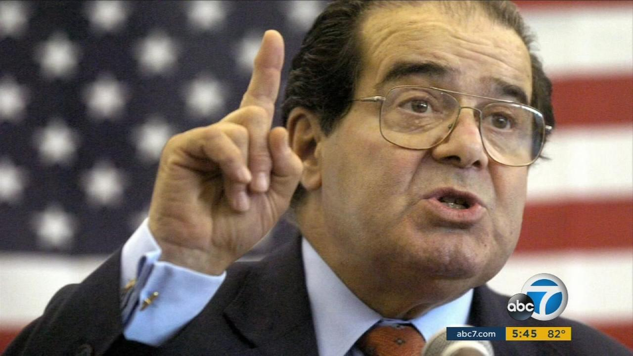 Supreme Court Justice Antonin Scalia was found dead on Feb. 13, 2016 in bed at a ranch in Texas.