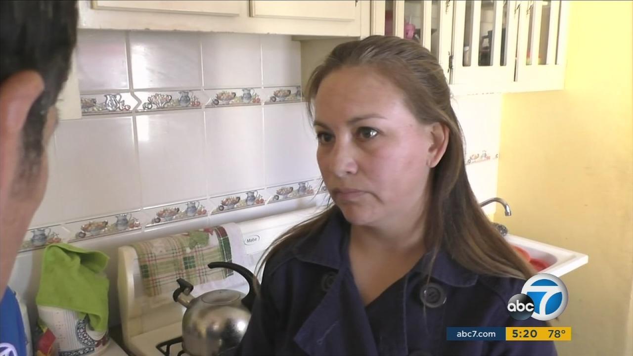 Blanca Carmona, a journalist in Juarez, Mexico, speaks to Eyewitness News.