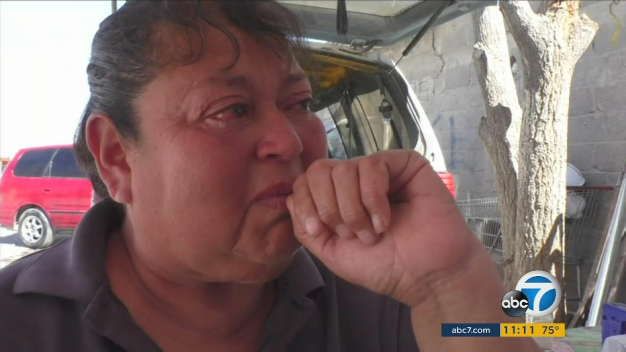 Maria Eugenia speaks about her incarcerated daughter to Eyewitness News in Juarez, Mexico.