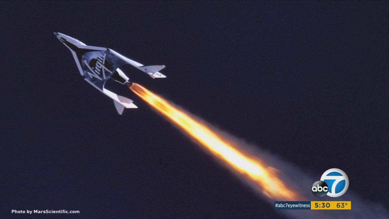 Virgin Galactic unveiled its new SpaceShipTwo designed to take tourists into space one day.