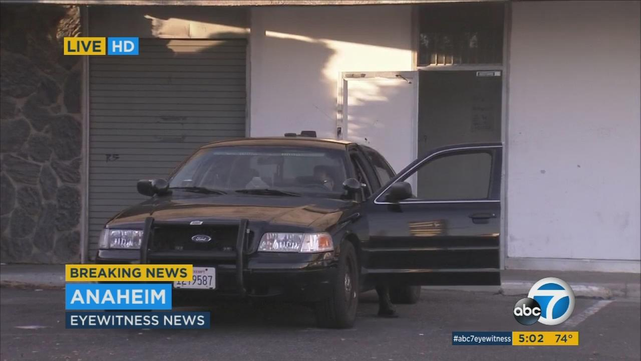 Three people were arrested after police discovered an illegal marijuana dispensary in Anaheim Monday.