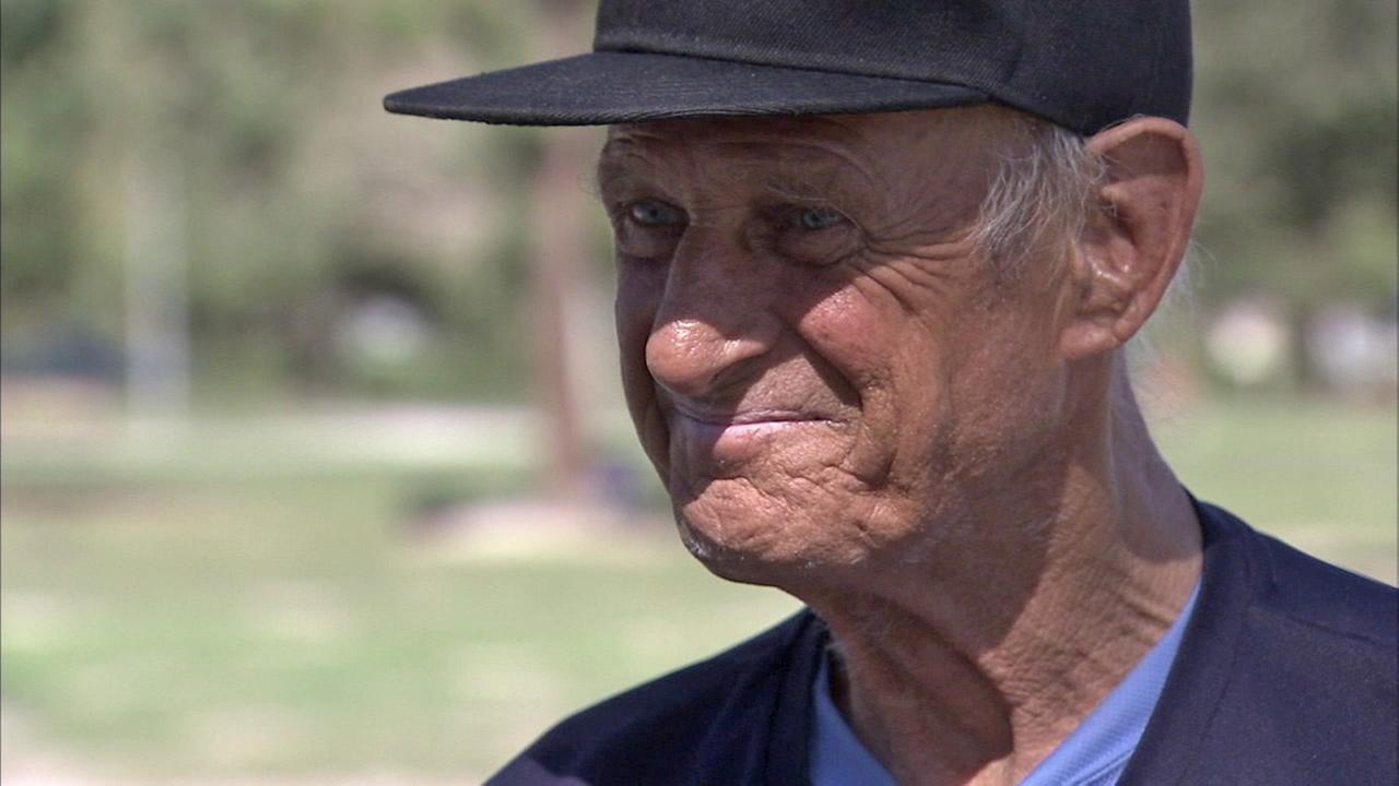 Jack Reilly, a homeless veteran, speaks to ABC7 on Thursday, Feb. 26, 2016.