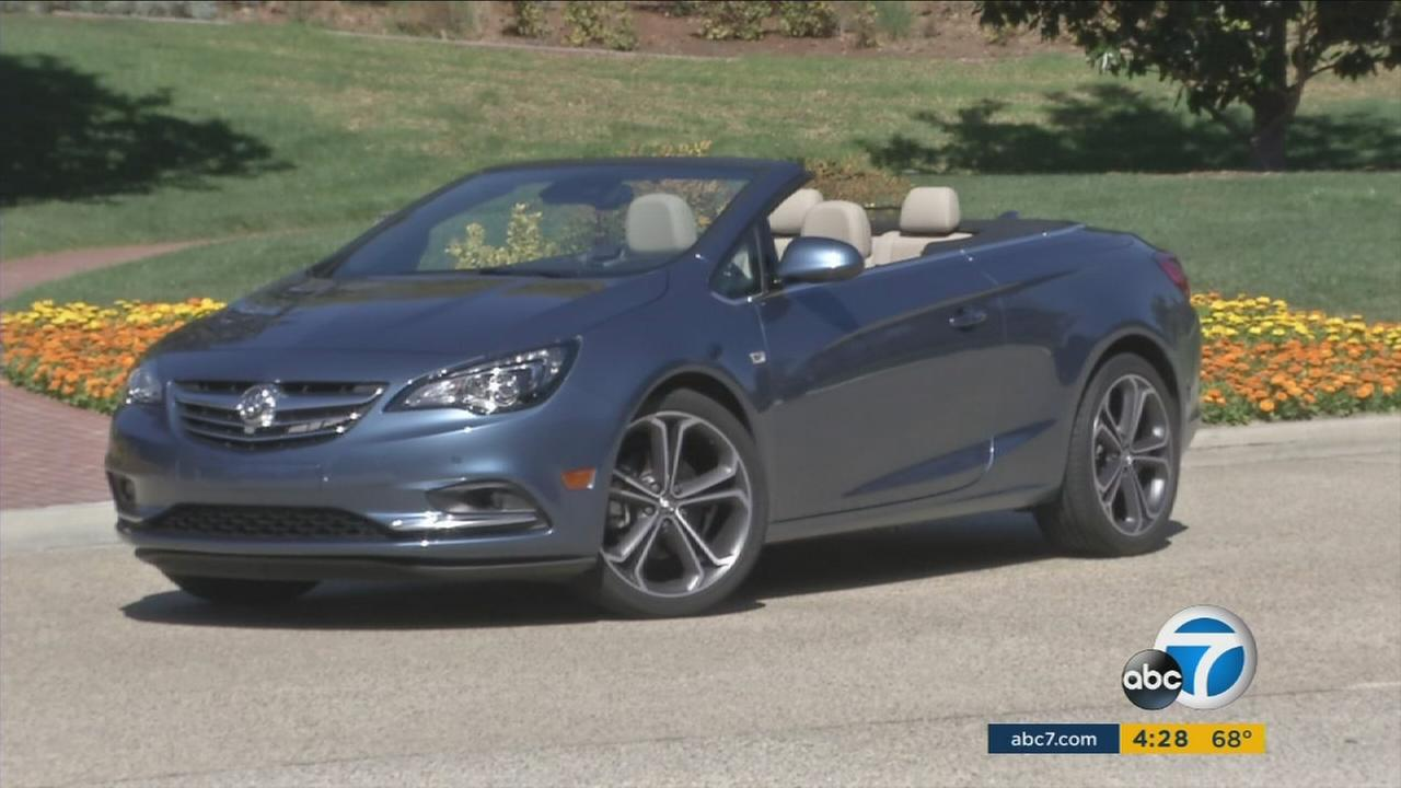Buick has released the Cascada, its first convertible since 1991.
