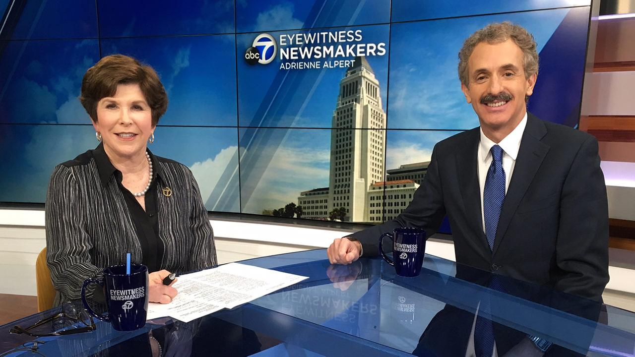 Eyewitness Newsmakers features Los Angeles City Attorney Mike Feuer and a USC cybersecurity expert.