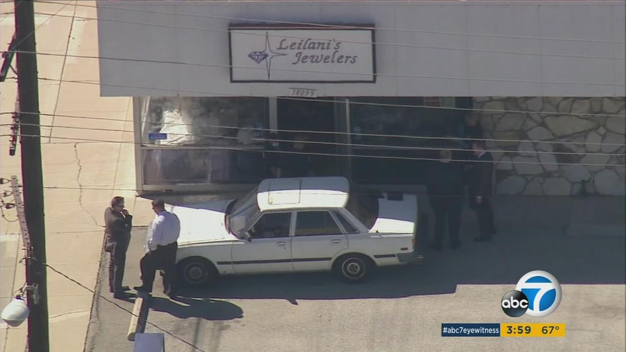 The owner of a jewelry store in Torrance shot and killed a robbery suspect on Tuesday, according to police.