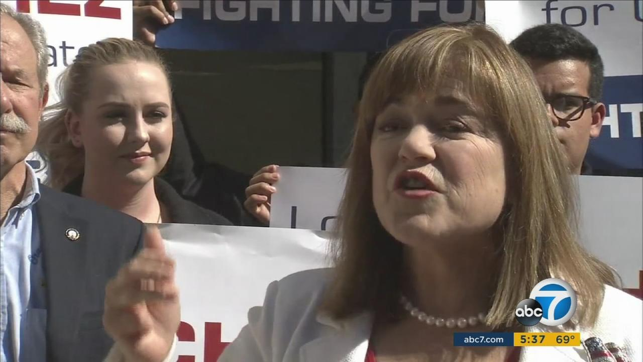 Rep. Loretta Sanchez made it official on Tuesday by filing her paperwork for her U.S. Senate bid to replace Sen. Barbara Boxer, who retires at the end of her term in 2017.