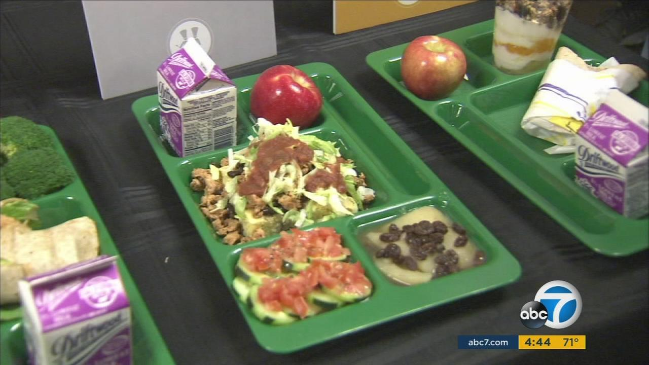 LAUSD cafeterias are using clever wordplay and better marketing to help kids eat healthier.