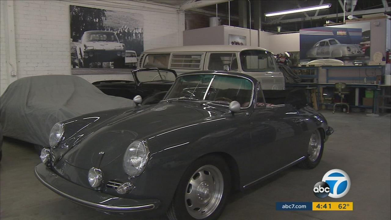 Emory Motorsports in North Hollywood takes vintage Porsches and restores them modern parts.