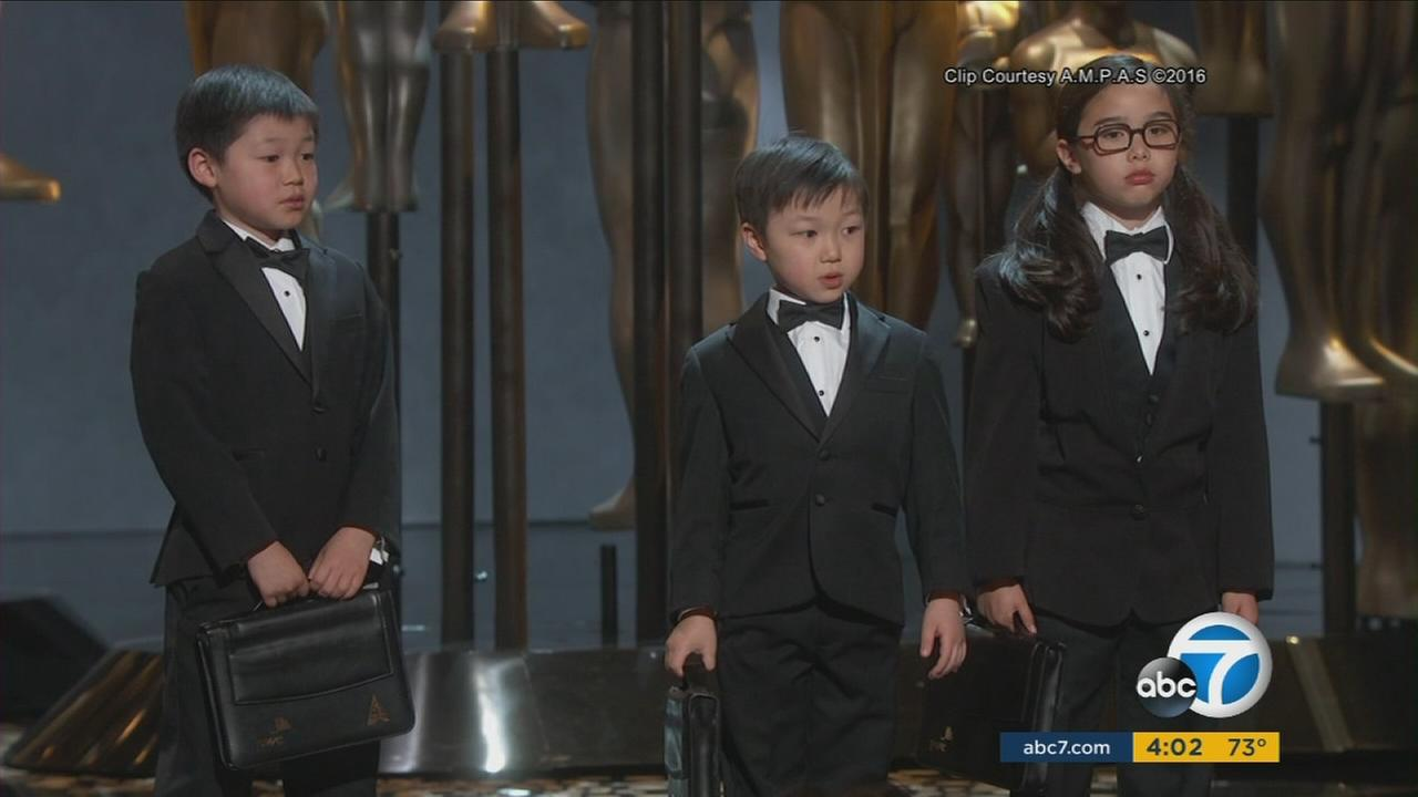 Asian-American actors and directors criticized the Chris Rock Oscars broadcast for offensive jokes.